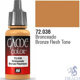 Vallejo Game Color 036: Bronze Flesh Tone 17 ml.