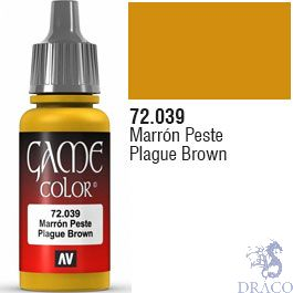 Vallejo Game Color 039: Plague Brown 17 ml.