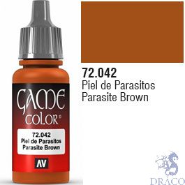 Vallejo Game Color 042: Parasite Brown 17 ml.