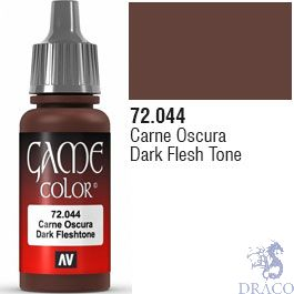 Vallejo Game Color 044: Dark Flesh Tone 17 ml.
