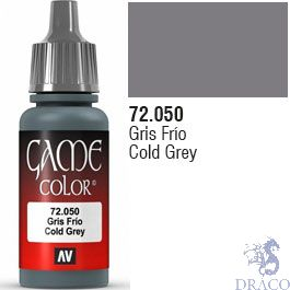 Vallejo Game Color 050: Cold Grey 17 ml.