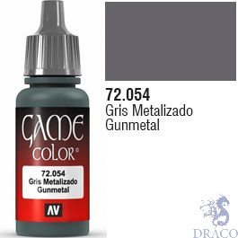 Vallejo Game Color 054: Gunmetal 17 ml.