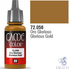 Vallejo Game Color 056: Glorious Gold 17 ml.