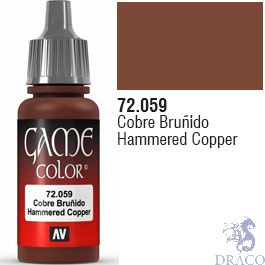 Vallejo Game Color 059: Hammered Copper 17 ml.