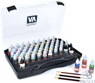 Vallejo Game Color Case - Paint Set
