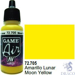 Vallejo Game Air 705: 17 ml. Moon Yellow