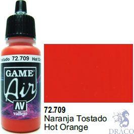 Vallejo Game Air 709: 17 ml. Hot Orange