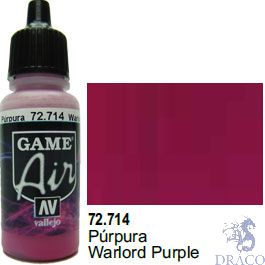 Vallejo Game Air 714: 17 ml. Warlord Purple