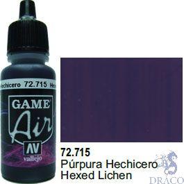 Vallejo Game Air 715: 17 ml. Hexed Lichen