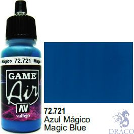Vallejo Game Air 721: 17 ml. Magic Blue