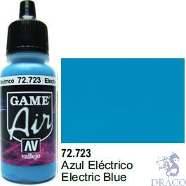 Vallejo Game Air 723: 17 ml. Electric Blue