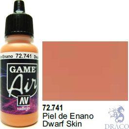 Vallejo Game Air 741: 17 ml. Dwarf Skin