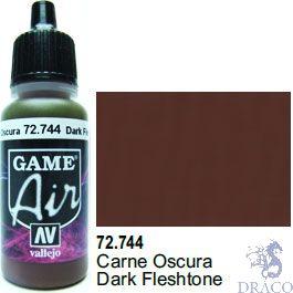 Vallejo Game Air 744: 17 ml. Dark Fleshtone