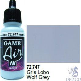Vallejo Game Air 747: 17 ml. Wolf Grey