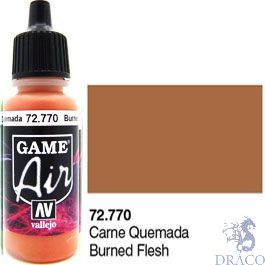 Vallejo Game Air 770: 17 ml. Burned Flesh