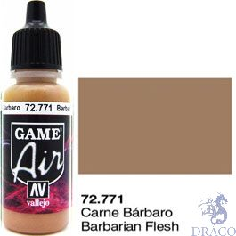 Vallejo Game Air 771: 17 ml. Barbarian Flesh