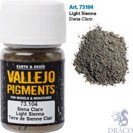 Vallejo Pigments 04: Light Siena 30 ml.