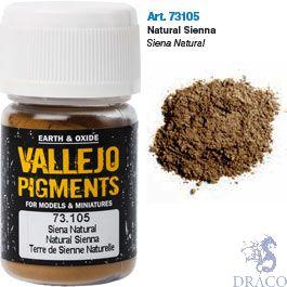 Vallejo Pigments 05: Natural Siena 30 ml.