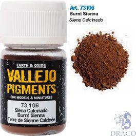 Vallejo Pigments 06: Burnt Siena 30 ml.
