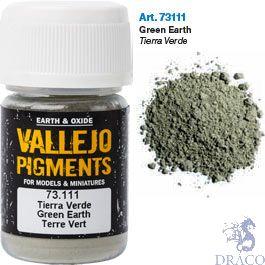 Vallejo Pigments 11: Green Earth 30 ml.