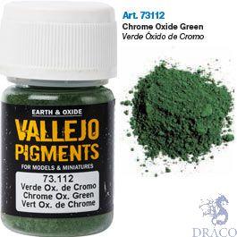 Vallejo Pigments 12: Chrome Oxide Green 30 ml.