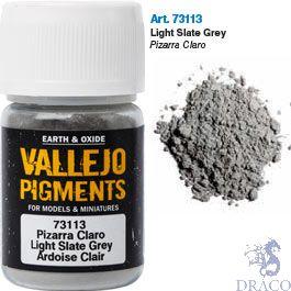 Vallejo Pigments 13: Light Slate Grey 30 ml.