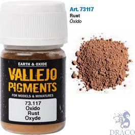 Vallejo Pigments 17: Rust 30 ml.