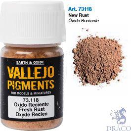 Vallejo Pigments 18: Fresh Rust 30 ml.
