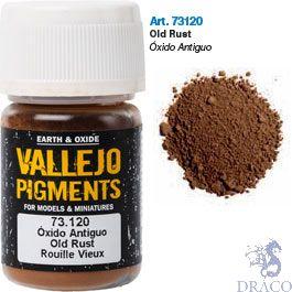 Vallejo Pigments 20: Old Rust 30 ml.