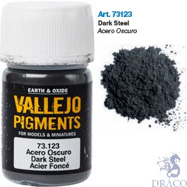 Vallejo Pigments 23: Dark Steel 30 ml.