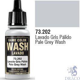 Vallejo Wash 02: 17 Ml. Pale Grey Shade