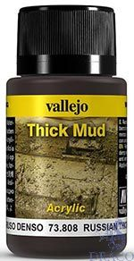 Vallejo Weathering Effects 808: Russian Thick Mud 40 ml.