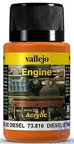 Vallejo Weathering Effects 816: Diesel Stains 40 ml.