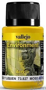 Vallejo Weathering Effects 827: Moss and Lichen Effect 40 ml.