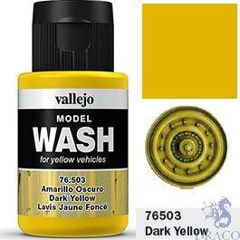 Vallejo Model Wash 03: Dark Yellow 35 ml.