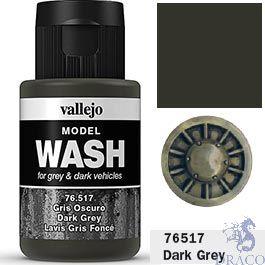 Vallejo Model Wash 17: Dark Grey 35 ml.