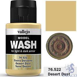 Vallejo Model Wash 22: Desert Dust 35 ml.