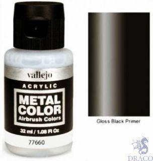 Vallejo Metal Color 60: Gloss Black Primer 32 ml.