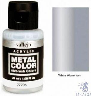 Vallejo Metal Color 06: White Aluminium 32 ml.