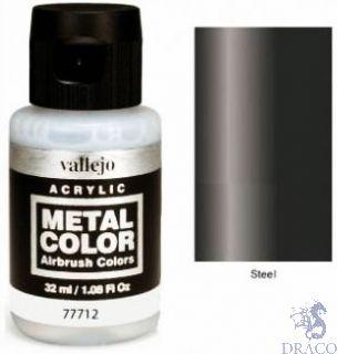 Vallejo Metal Color 12: Steel 32 ml.