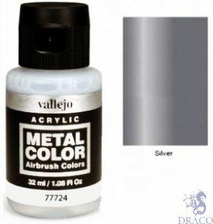 Vallejo Metal Color 24: Silver 32 ml.
