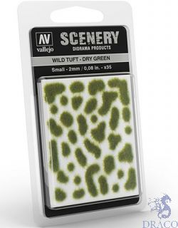 Vallejo Scenery 401: Wild Tuft - Dry Green (Small)