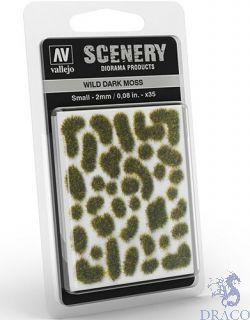 Vallejo Scenery 402: Wild Dark Moss (Small)