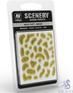 Vallejo Scenery 408: Wild Tuft - Beige (Medium)