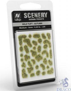 Vallejo Scenery 409: Wild Tuft - Autumn (Medium)