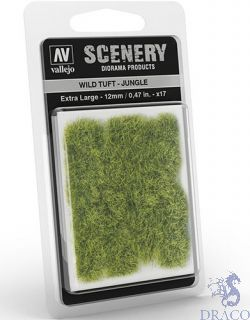 Vallejo Scenery 428: Wild Tuft - Jungle (Extra large)