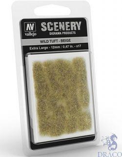 Vallejo Scenery 429: Wild Tuft - Beige (Extra large)