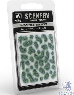 Vallejo Scenery 432: Fantasy Tuft - Turquoise (Large)