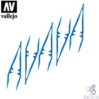 Vallejo Tools: Plastic Tweezers x5