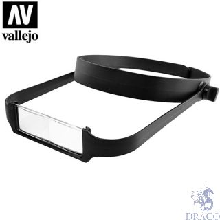 Vallejo Tools: Lightweight Headband Magnifier with 4 Lenses